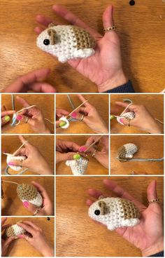 Here's the link to the tutorial >> How to Crochet an Amigurumi Baby Guinea Pig << by SympliTutorials