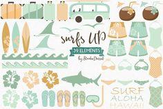 Cliparts de surf surf Clip Art Clipart requin Cliparts