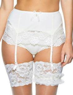 1183220 Charnos Embrace Suspender Belt - 1183220 Ivory. Belle LingerieSatin  ... d9b64e54e