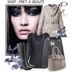 SHOP : PRET- A -BEAUTE by ladymargaret on Polyvore featuring мода, Raxevsky, Timeless and Modalu