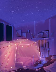 Commissions Gallery — MIENAR You are in the right place about gifts design Here we offer you the mos Anime Scenery Wallpaper, Aesthetic Pastel Wallpaper, Aesthetic Wallpapers, Walking Animation, Fire Animation, Kyoto Animation, Disney Animation, Japon Illustration, Aesthetic Gif