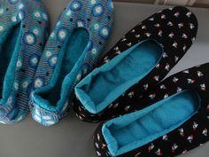 Tuto chaussons - Pique & pique & colle & gramme