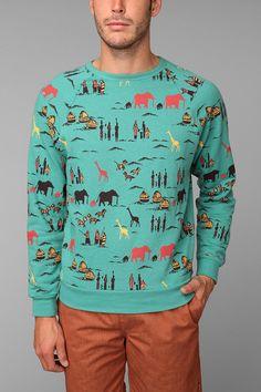Safari Pullover Sweatshirt