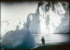 Shackleton's Endurance expedition: Fortuna Glacier, Elephant Island, Antarctica (Frank Hurley, 1915)