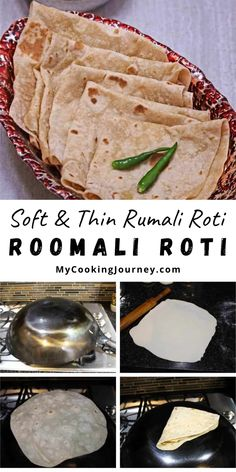 The texture and the fold of the roti resembles the Handkerchief and hence called the Handkerchief roti. Soft and Thin Rumali Roti, is a popular flatbread from the regions of India and Pakistan. #dinner #indianrecipe #roomaliroti #roti @mycookinjourney | mycookingjourney.com Brunch Recipes, Easy Dinner Recipes, Breakfast Recipes, Easy Meals, Breakfast Ideas, Drink Recipes, Easy Recipes, Rumali Roti, Easy Cooking