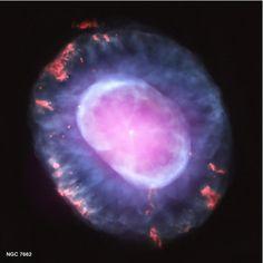 Nebula NGC 7662 (NASA, Chandra, 10/10/12) by NASA's Marshall Space Flight Center
