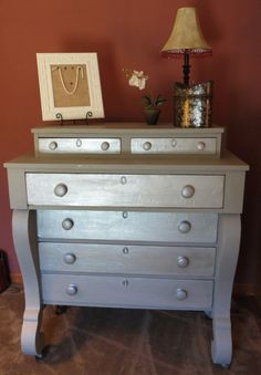Hey, I found this really awesome Etsy listing at https://www.etsy.com/listing/154809294/1800s-painted-empire-style-dresser