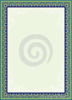 Download file desain frame border berformat vector free drawings arabic art border frame design suitable for koran or islamic book and certificate thecheapjerseys Image collections