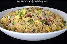 Southwestern Rice Pilaf. I used brown rice and served it with chicken ...