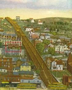 The Incline Railway, which sadly no longer exists today. Duluth Minnesota, Neighborhood Watch, Outdoor Photos, Lake Superior, Historical Pictures, Great Lakes, Paris Skyline, History, City