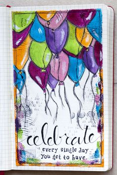 Weekly Art Journal « celebrate every day