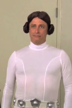 Jon Stewart in Star Wars cosplay is the best thing ever.