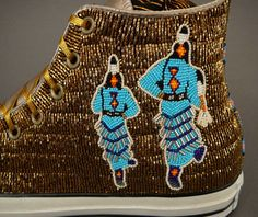 native+american+quillwork | Native American Beadwork by Teri Greeves at Home & Away Gallery