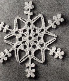 Crochet a Snowflake Star