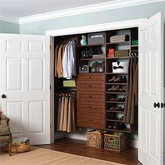 Custom Designed Reach In Closet Systems Reach In Closet Reach In Closet  Save Space Hanging , Storage, Organization, Functional, Expert Closets ,  Cape Cod, ...