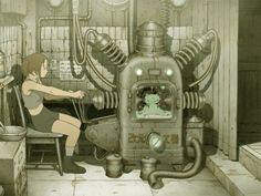 """Tojin Kit"" by Tatsuyuki Tanaka from ""Genius Party Beyond"""