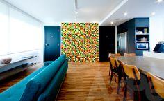 Apartamento nos Jardins, São Paulo, SP #interior #design #decor #saopaulo