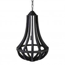 Denver black lamp drop Iron 45*45*55 cm PTMD 249 E