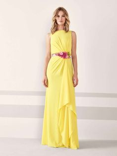 premium selection d24c0 c93ed abito giallo