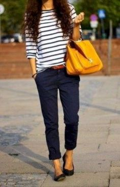 Trendy business casual work outfit for women (31) #casualworkoutfit