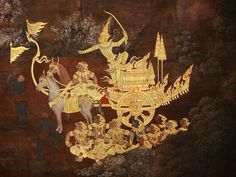 Phra Rama with the Monkey Army