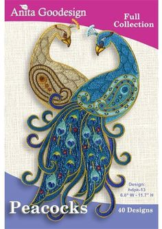 Anita Goodesign Embroidery Machine Designs Cd Peacocks: http://www.amazon.com/Goodesign-Embroidery-Machine-Designs-Peacocks/dp/B002FT64WW/?tag=greavidesto05-20