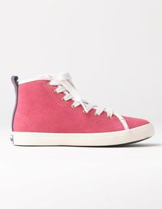 Boden Suede High Tops Fox Glove Girls Boden, Fox Glove Shoot some hoops or run around the park in these high tops. They have laces AND a zip, because who wants to tie and untie their shoes all the time? Our favourite features though? The flowery lining an http://www.MightGet.com/january-2017-13/boden-suede-high-tops-fox-glove-girls-boden-fox-glove.asp