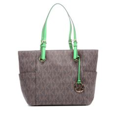 Maple and West MICHAEL Michael Kors Jet Set East/West Tote Bag - Brown/Palm