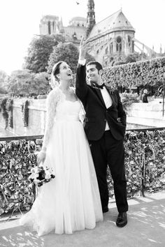 J.Crew real wedding in Paris.
