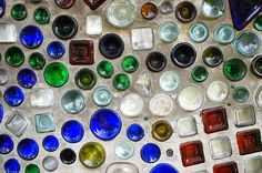 best collection of bottle wall ideas I've seen in one place! @Heather Meridith Mullins EAT YOUR HEART OUT!!! hahah!