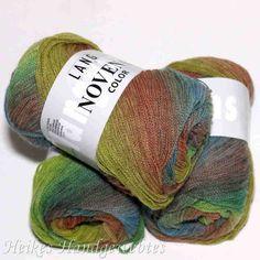 """Novena Color """"Rost-Hellgrün-Blau"""" von Lang Yarns Afghan Loom, Finger Knitting, Lang Yarns, Paracord, Color, September, Shops, Shopping, Shades"""