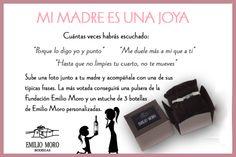 Bodegas Emilio Moro - Mi madre es una joya Emilio, Fitbit, Wine Cellars, Jewels