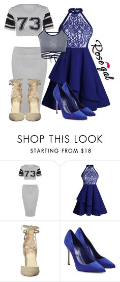 """""""// Rosegal-Women Style// 53/I"""" by lightcoti ❤ liked on Polyvore featuring Ivanka Trump and Sergio Rossi"""