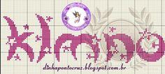 Monograma com estrelas minusculo do K ao O