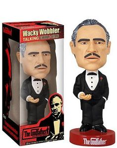 The Godfather Wacky Wobbler http://popvinyl.net #funko #funkopop #popvinyls