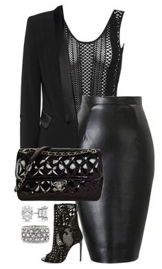 Ideas de outfits: muy elegantes looks... Negro Total... ❤️