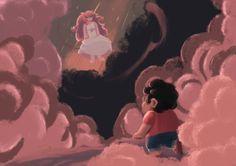 Imagen de rose quartz, steven, and steven universe