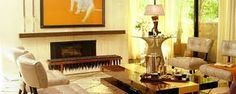 chairs by the legendary Billy Haines used in a modern room. Vintage Interiors, Hollywood Regency, Hollywood Stars, Classic Interior, Modern Room, Chair Design, Slipcovers, Service Design, Family Room