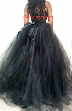 FOLLOW ME @kayturestylings on instagram!!  HI, thank you very much for visiting my store. Please read through entire listing for everything you need to know . If you still have questions please message me, i would love to hear from you.  WHAT YOU ARE PURCHASING! 1. You are purchasing a full tulle ball gown look at me skirt. This skirt is seen paired with the kayture bunny bodysuit (available in a store), this is a wow look at me piece. Very flowy, verry poofy, very dramatic. Get the couture…