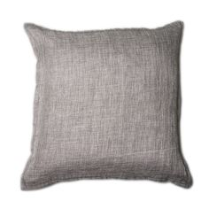 The Mace sham is a classic, masculine sham with smooth knife edging. This sham will add a rough, textured look to any bed in your bedroom. A neutral brown tone adds to any decor.