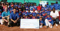 Los ejecutivos de 4Life recientemente anunciaron su donación anual de $15,000 USD a la Academia de Béisbol Rentería en Barranquilla, Colombia. Aprende más en 4life.com.