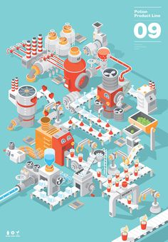 potion.09 by sangjoon yoon, via Behance