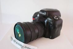 3D Birthday Cakes NJ - Nikon Camera Custom Cakes