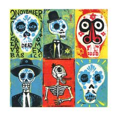 Day of the Dead | by Illustration Ben
