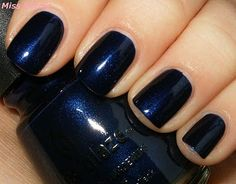 """I have a shade like from OPI, """"Russian Navy"""" gah I love it!"""