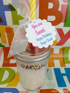 Happy Birthday Sugar Scrub