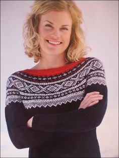 Norwegian winter style, give me prettyplease Norwegian Style, Sweet Memories, Christmas Sweaters, Knit Crochet, Winter Fashion, Give It To Me, Knitting, Blouse, Pattern
