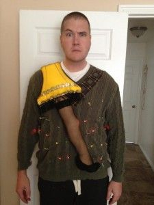 Christmas Story Ugly Sweater #uglysweater #humor