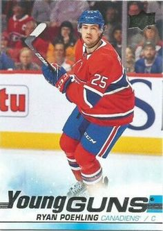 A large assortment the new Upper Deck hockey cards for sale Hockey Cards, Baseball Cards, Young Guns, Montreal Canadiens, Upper Deck, Decks, Sports, Red, Hs Sports