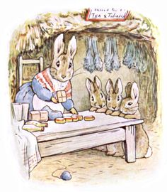 peter rabbit paint vintage - Buscar con Google